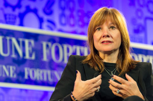 Wednesday, October 16, 2013 Fortune The Most Powerful Women Washington, D.C., USA 10:25 AM ONE ON ONE Mary Barra,Executive Vice President, Global Product Development and Global Purchasing and Supply Chain, General MotorsInterviewer: Becky Quick, co-anchor, Squawk Box, CNBC Photograph by Stuart Isett/Fortune Most Powerful Women