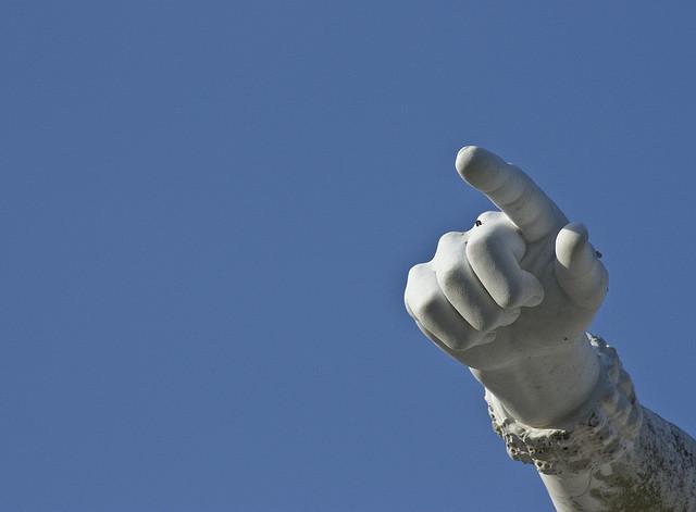 bossy finger